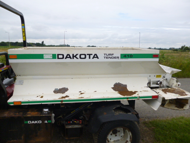 sold ! toro workman 3300d with dakota speader
