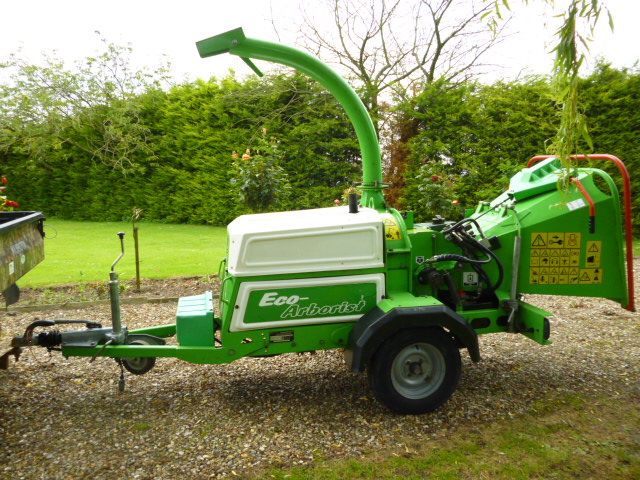 GREENMECH EC15 23 MT34 WOOD CHIPPER