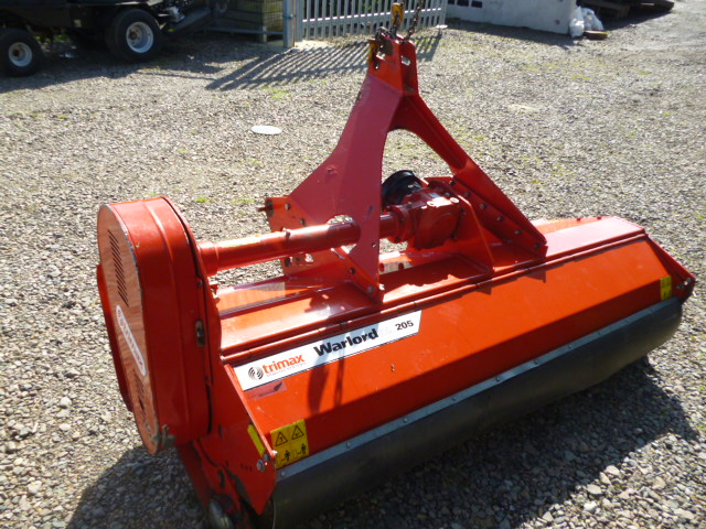 SOLD!!! TRI MAX WARLORD 205 FLAIL MOWER ATTACHMENT