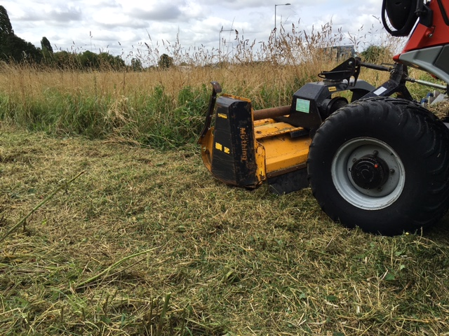 SOLD!!! REFORM H6X BANK FLAIL MOWER