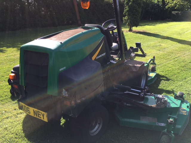 SOLD!!! RANSOMES HR6010 BATWING 2006 MOWER