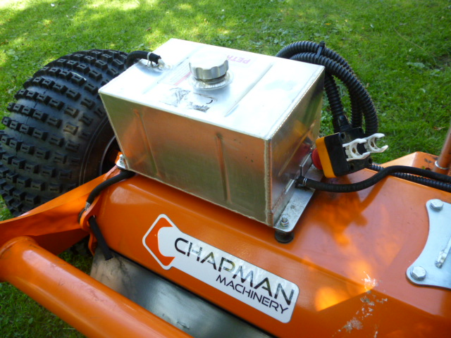 SOLD!!! CHAPMAN 120 ATV FLAIL MOWER TOW REDUCED