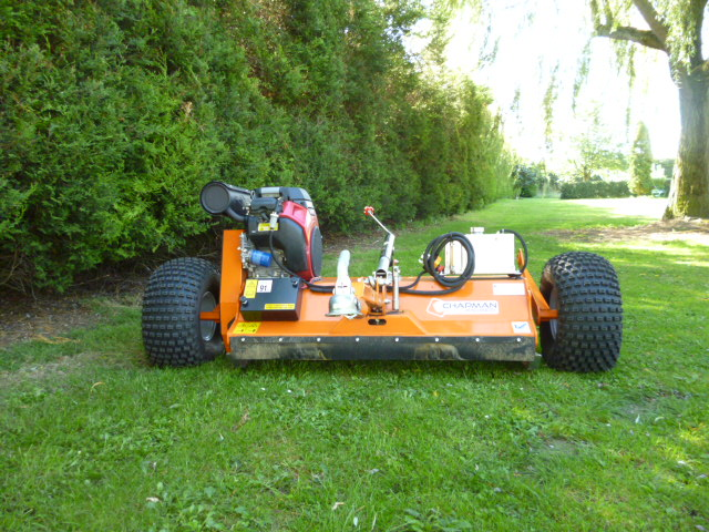 SOLD!!! CHAPMAN 120 ATV FLAIL MOWER TOW REDUCED for sale, FNR Machinery