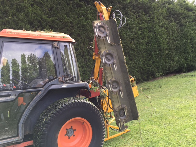 Sold Kirogn Hedge Cutter Side Arm For Sale Fnr Machinery