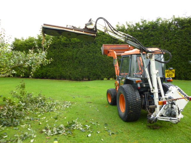 SOLD!!! ROUSSEAU FLAIL ARM FOR COMPACT TRACTOR