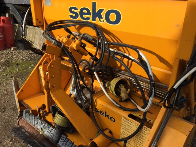 SOLD!!! SEKO FLAIL MOWER COLLECTOR