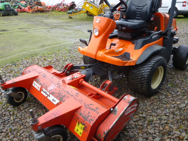 SOLD!!! KUBOTA F3680 FLAIL OUT FRONT RIDE ON MOWER