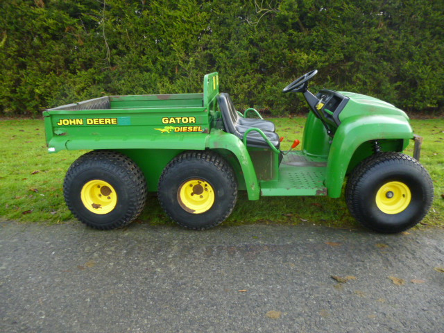 SOLD!!! JOHN DEERE 6X4 GATOR UTILITY CHEAP