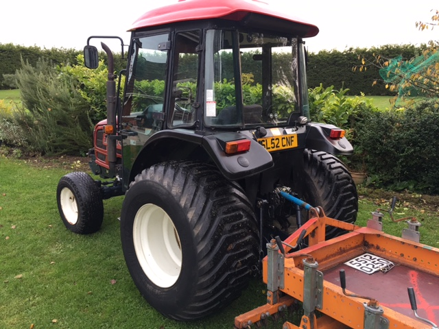 SOLD!!! TYM T431 COMPACT TRACTOR KUBOTA ENGINE 43H