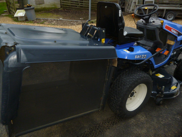 SOLD!!! ISEKI SXG22 RIDE ON DIESEL MOWER DIESEL