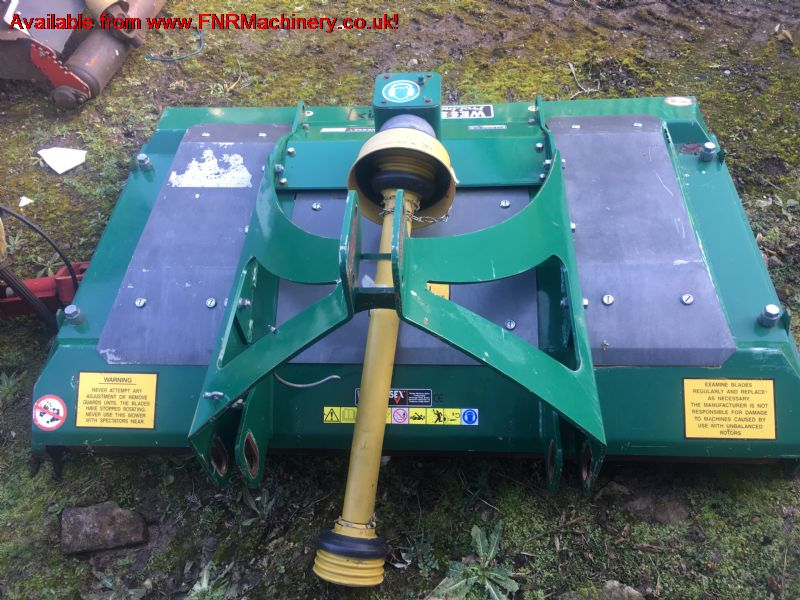 SOLD!!! WESSEX ROLLER MOWER 1.8 FINISHING DECK