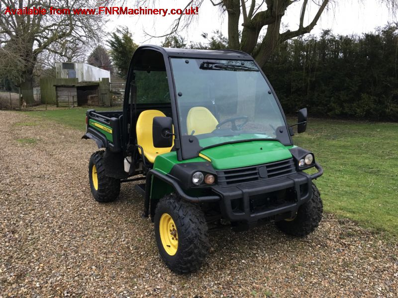 SOLD!!! JOHN DEERE GATOR 855 NEW SHAPE 4X4 DIESEL