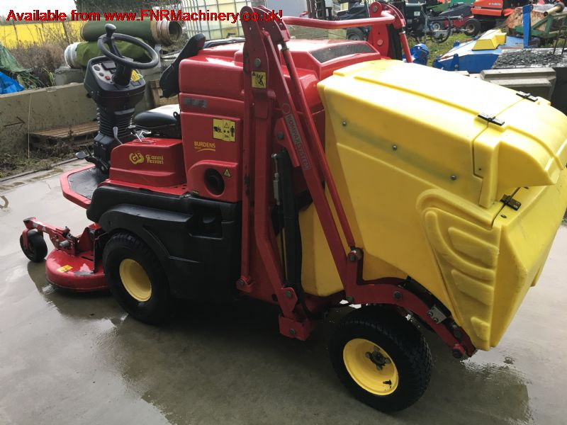 SOLD!!! GIANNI FERRARI 4FT COLLECTOR MOWER