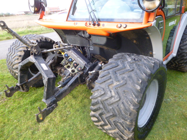 SOLD!!! REFORM H7X BANK MOWER 4X4 AIR CON
