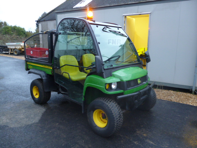 sold john deere gator hpx diesel 4x4 full cab for sale. Black Bedroom Furniture Sets. Home Design Ideas