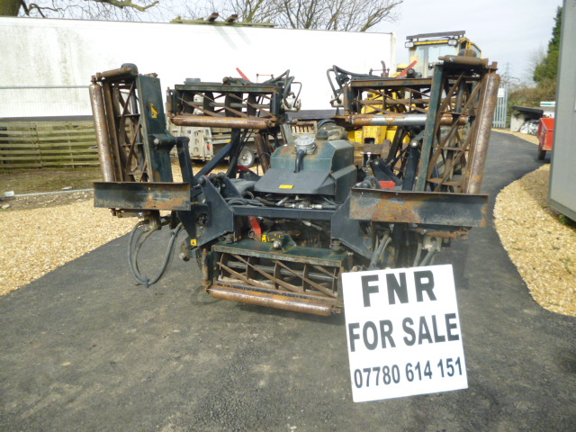 SOLD!!! HAYTER TM749 7 GANG TRAILED CYLINDER MOWER