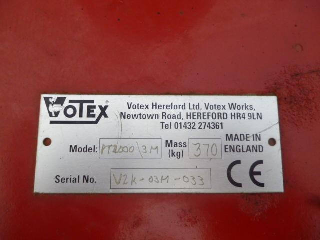 SOLD!!! VOTEX PT ROLLER MOWER MULCHING