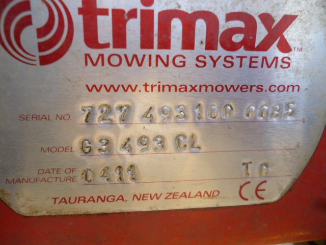 SOLD!!! TRI MAX PEGASUS 2011 S3 G3 MOWER