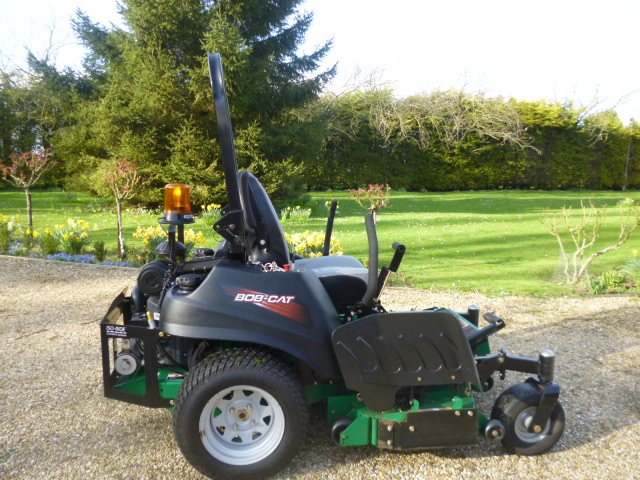 SOLD!!! BOBCAT 48 RIDE ON MOWER ZERO TURN 2013