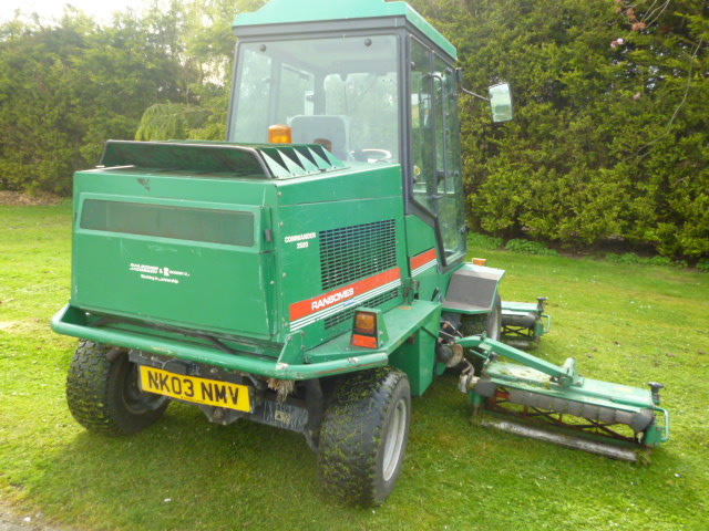 SOLD!!! RANSOMES COMMANDER 3520 5 GANG MOWER