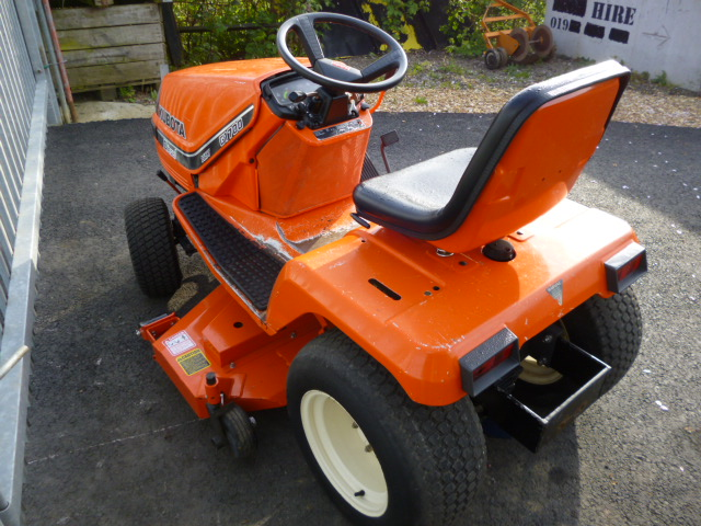 Sold Kubota G1700 Ride On Mower New Deck For Sale Fnr