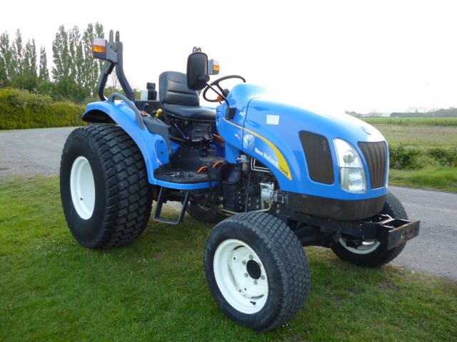 New Compact Tractor : Sold new holland tc da compact tractor for sale fnr