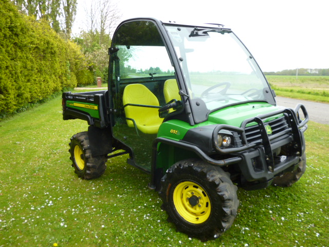 john deere gator 855d utility diesel ebay. Black Bedroom Furniture Sets. Home Design Ideas