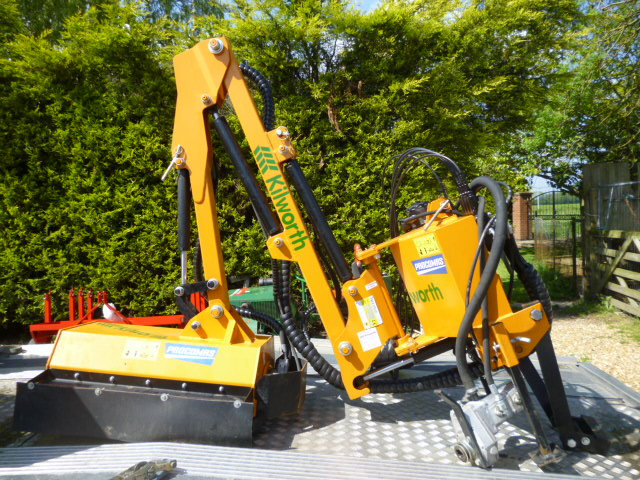 Sold Kilworth Side Arm Flail Compact Tractor For Sale