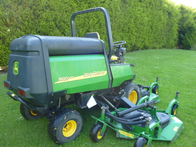 SOLD!!! JOHN DEERE 1600 WAM TURBO MOWER