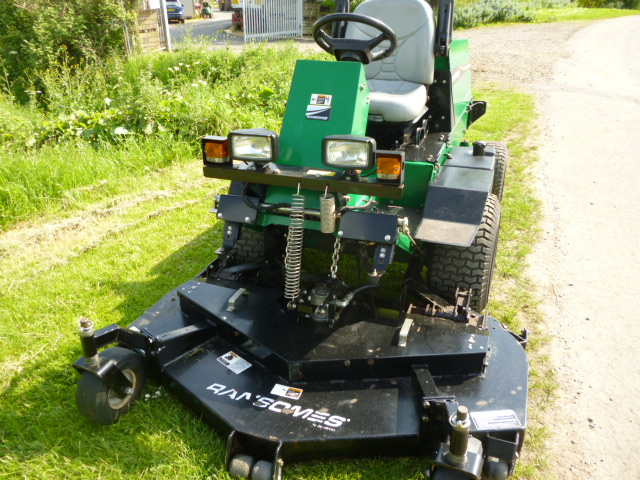 SOLD!!! RANSOMES FRONTLINE 728 OUTFRONT MOWER