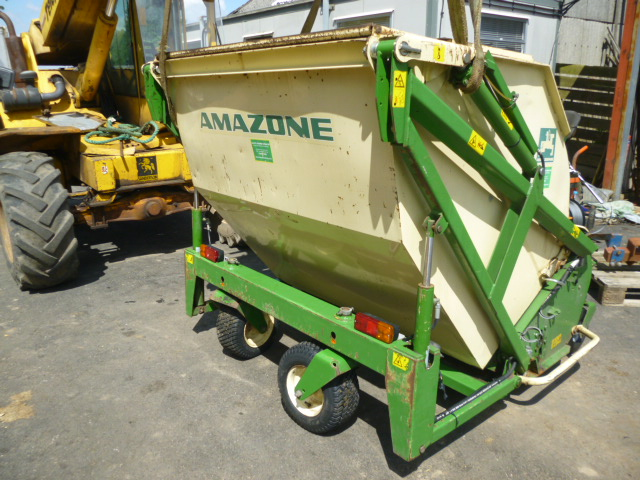 SOLD!!! AMAZONE FLAIL CHL 150 MOWER SCARIFTING BLA