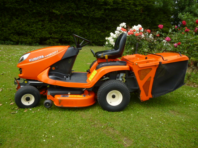 Lawn Mower Diesel : Ride on kubota gr ii lawn tractor diesel collector