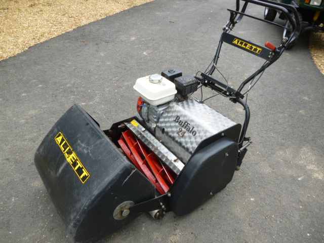 SOLD!!! ALLETT BUFFALO 24 WALK BEHIND MOWER