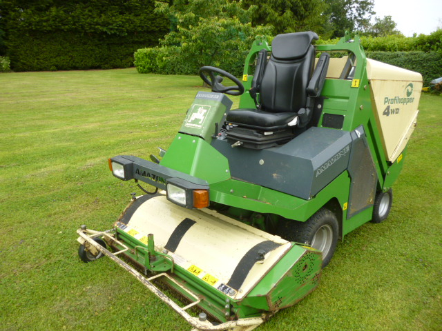 SOLD!!! AMAZONE PROFIHOPPER FLAIL MOWER
