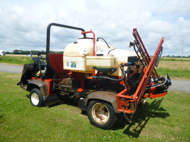SOLD!!! TORO WORKMAN 3300D WITH SPRAYER DIESEL