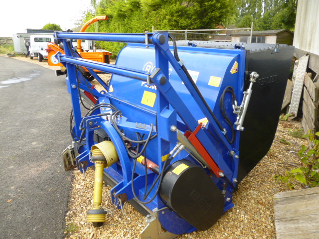 SOLD!!! RYTEC FLAIL COLLECTOR ATTACHMENT TRACTOR