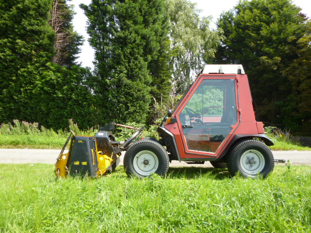 SOLD!!! AEBI TT70S BANK MOWER 4X4 AIRCON & FLAIL