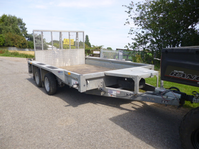 SOLD!!! IFOR WILLIAMS PLANT TRAILER 3.5 10X6