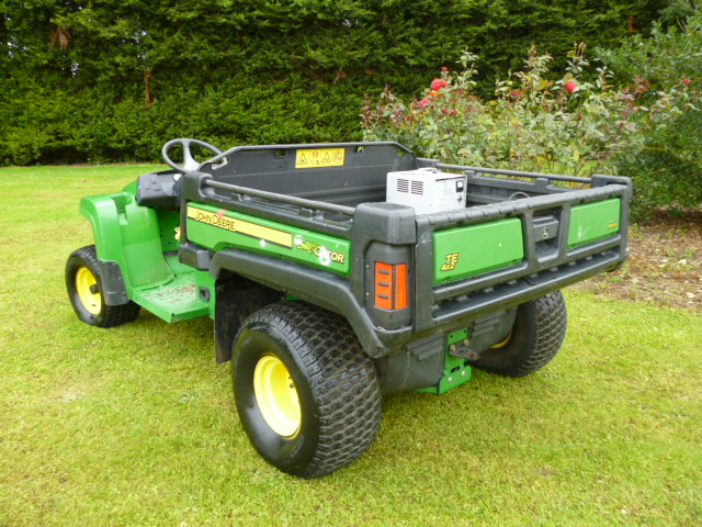 Sold John Deere E Gator Battery Power Utility For Sale