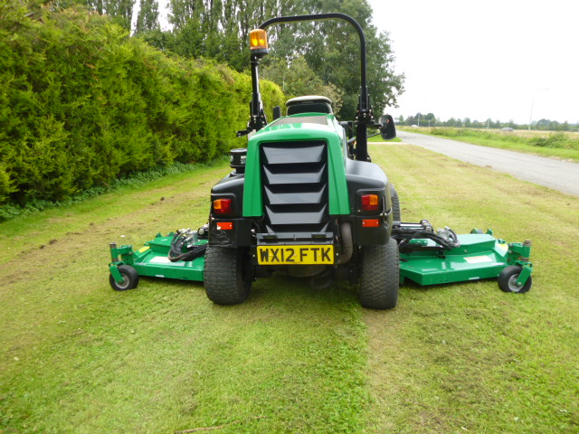 SOLD!!! RANSOMES BATWING HR6010 MOWER