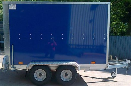 TWIN AXLE BOX TRAILER 7X5X6