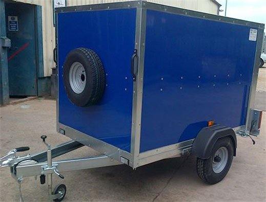 ECO VALUE BOX TRAILER 6X4X4 VERY LIGHT