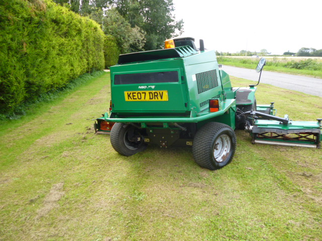 SOLD!!! RANSOMES COMMANDER 3250 07 5 GANG MOWER