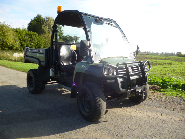 SOLD!!! JOHN DEERE GATOR 855 NEW SHAPE DIESEL POWE