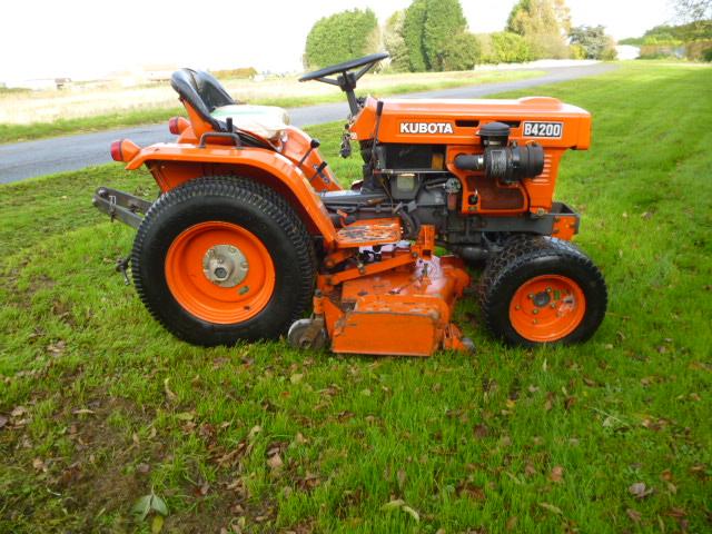 Kubota B4200 Compact Tractor 4x4 For Sale Fnr Machinery