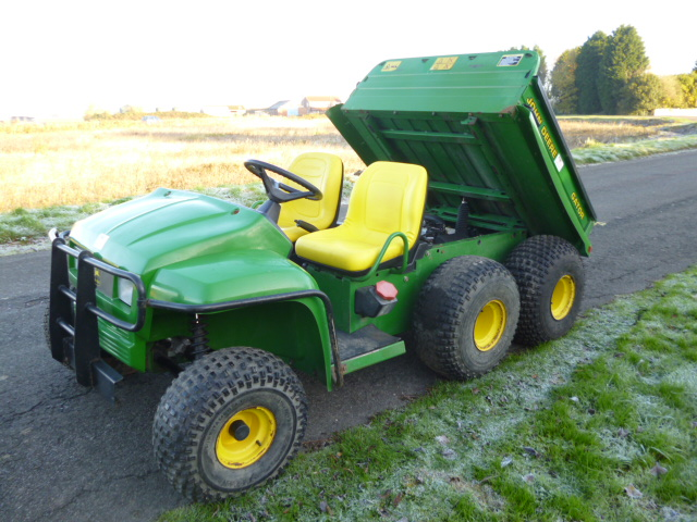 sold john deere gator 6x4 diesel for sale fnr machinery. Black Bedroom Furniture Sets. Home Design Ideas