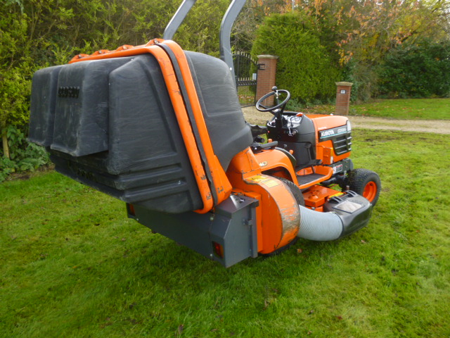 SOLD!!! KUBOTA BX2200 COMPACT TRACTOR MOWER FAN CO