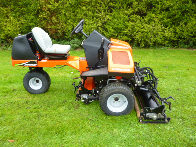 SOLD!!! JACOBSEN TRI KING 1900D TRIPLEX TRIM MOWER for sale, FNR