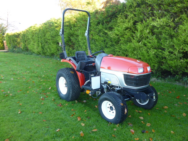 SOLD!!! YANMAR EF230H COMPACT TRACTOR 4X4