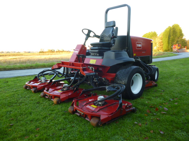 SOLD!!! TORO 4500D GROUNDSMASTER ROTARY OUTFRONT M